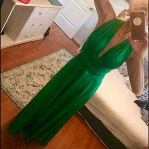 Dresses & Skirts - Beautiful never worn long green gown